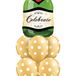Celebrate Bubbly Dots Luxury