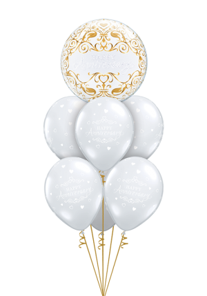 Happy Anniversary Bubble Luxury