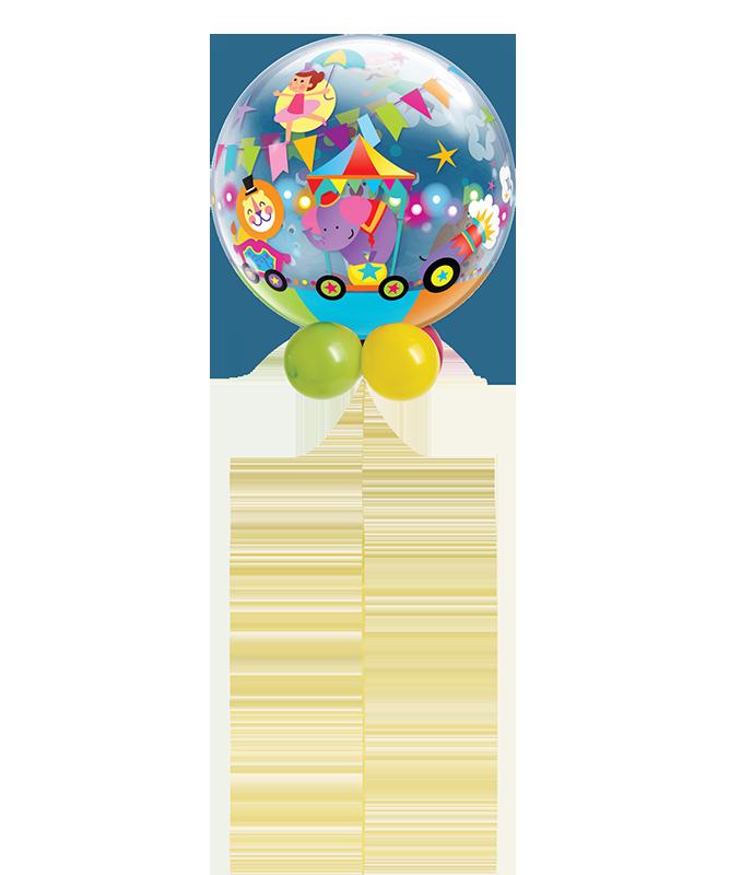Circus Parade Bubble