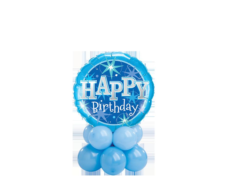 Birthday Blue Sparkle Mini