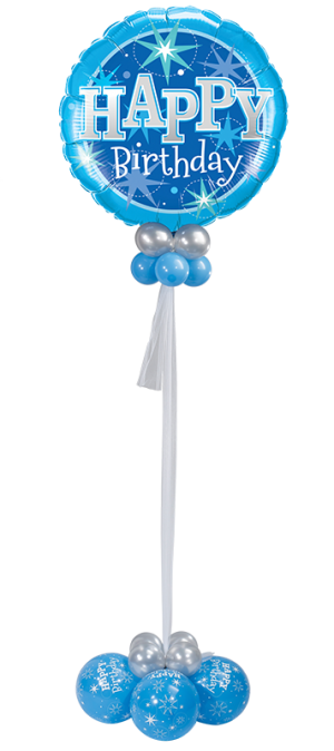 Birthday Blue Sparkle Giant