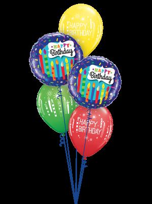 Birthday Candles & Confetti Classic