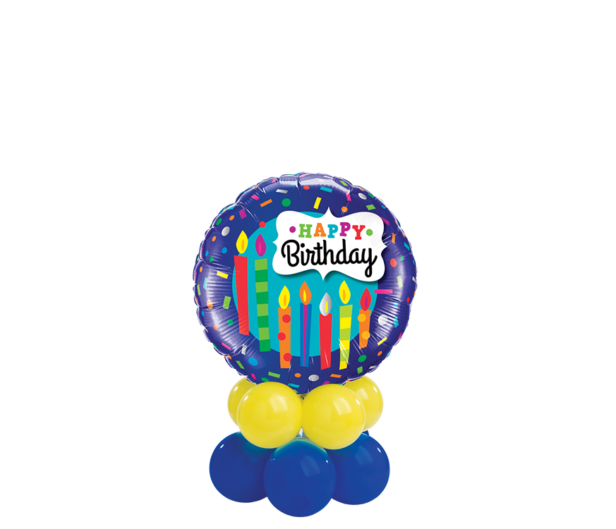 Birthday Candles & Confetti Mini