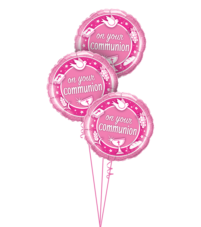 On Your Communion Pink Triple