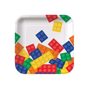 BLOCK PARTY PLATES 7″