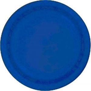 SOLID COLOUR COBALT BLUE 7″
