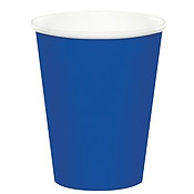 SOLID COLOUR COBALT BLUE CUPS