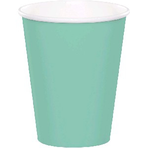 SOLID COLOUR FRESH MINT CUPS