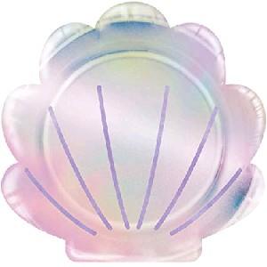MERMAID SHINE PLATES SHELL 8,75″
