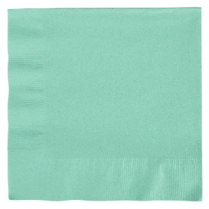 PLAIN SERVIETTES FRESH MINT 20s