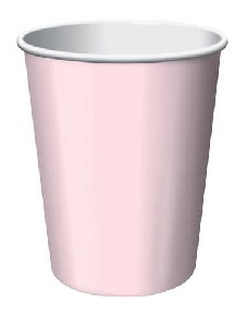 SOLID COLOUR CLASSIC PINK CUPS