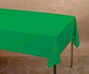 SOLID COLOUR EMARALD GREEN CLOTHS