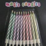 CANDLES MAGIC 10s