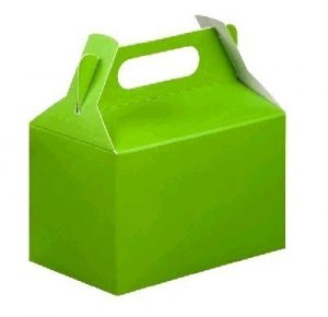 PARTY BOXES LIME GREEN