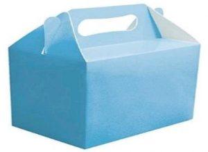 PARTY BOXES LIGHT BLUE