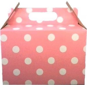 PARTY BOX POLKA LIGHT PINK