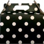 PARTY BOXES POLKA DOT BLACK