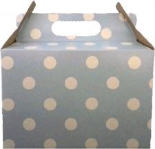 PARTY BOXES POLKA DOT LIGHT BLUE