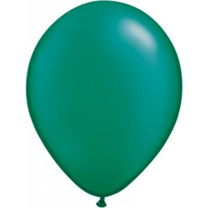 11 INCH LATEX RND PRL EMERALD
