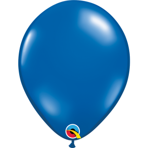 11 INCH LATEX JEWEL SAPPHIRE BLUE