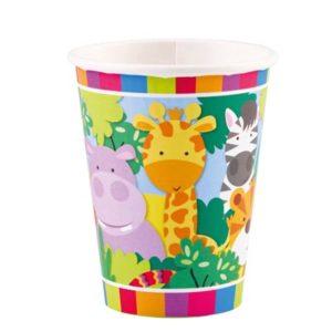 CU:Jungle Paper Cups 8