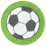 PL:Kicker Party Paper Plates 23cm 8ct