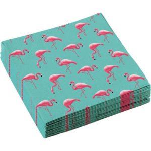 NA:Flamingo Paradise Napkins 33cm 20CT