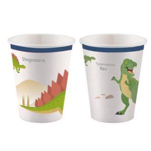 CU:Happy Dinosaur Paper Cups 8