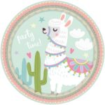 PL:Llama Paper Plates 23cm 8