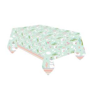 TC:Llama Plastic Tablecloth