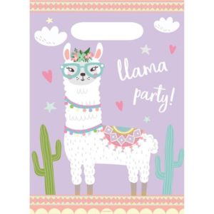 PB:Llama Plastic Party Bags 8