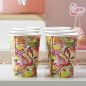 Flamingo Fun – Paper Cups