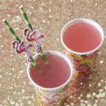 Flamingo Fun Paper Straws & Flags