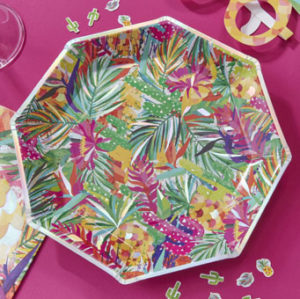 Hot Summer – Paper Plates – Foiled