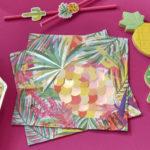 Hot Summer – Paper Napkins – Foiled
