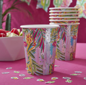 Hot Summer – Paper Cups – Foiled