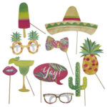 Hot Summer – Photo Booth Props – Fancy Dres