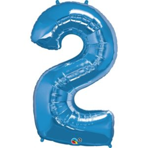 34 INCH FOIL NUMBER 2 SAPPHIRE BLUE 1CTP