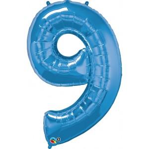 34 INCH FOIL NUMBER 9 SAPPHIR BLUE 1CTP