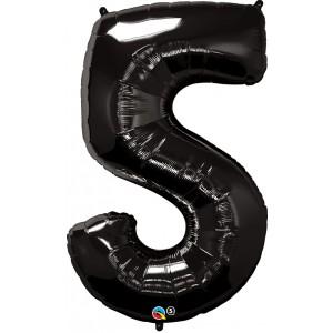 34 INCH FOIL NUMBER 5 ONYX BLACK 1CTP