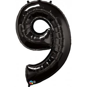 34 INCH FOIL NUMBER 9 ONYX BLACK 1CTP