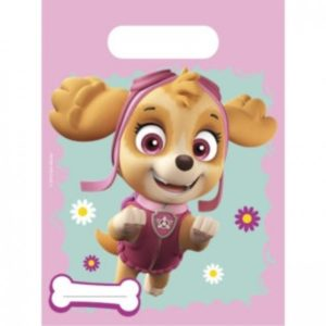 PAW PATROL SKYE & EVEREST PARTY BAGS 6CT