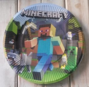 Minecraft Party Plates – Minecraft Party Supplies