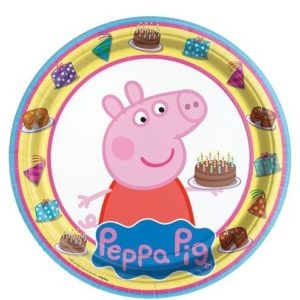 Plates – Peppa Pig Party