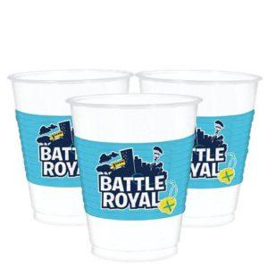Battle Royal Plastic Cups – Fortnite Party