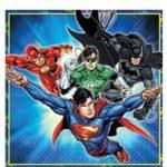 Justice League Napkins – 2ply Paper – Justice League Party
