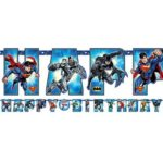 Justice League 'Add an Age' Letter Banner – Justice League Party