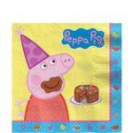 Napkins – Peppa Pig Party