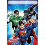 Justice League Party Bags – Plastic Loot Bags – Justice League Party