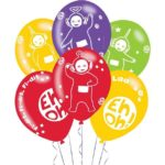 Teletubbies Latex Balloons – Teletubbies Party Supplies